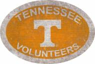"""Tennessee Volunteers 46"""" Team Color Oval Sign"""