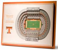 Tennessee Volunteers 5-Layer StadiumViews 3D Wall Art