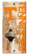 """Tennessee Volunteers 6"""" x 12"""" Distressed Bottle Opener"""