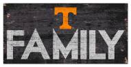 """Tennessee Volunteers 6"""" x 12"""" Family Sign"""