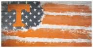 "Tennessee Volunteers 6"" x 12"" Flag Sign"