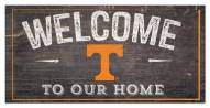 """Tennessee Volunteers 6"""" x 12"""" Welcome Sign"""