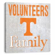 Tennessee Volunteers Fanmily Printed Concrete Wall Decor
