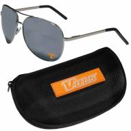 Tennessee Volunteers Aviator Sunglasses and Zippered Carrying Case