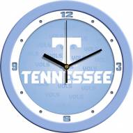 Tennessee Volunteers Baby Blue Wall Clock