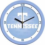 Tennessee Volunteers Baby Blue Wall Clock