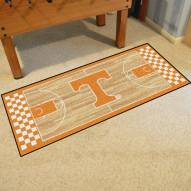 Tennessee Volunteers Basketball Court Runner Rug
