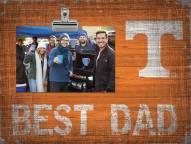 Tennessee Volunteers Best Dad Clip Frame