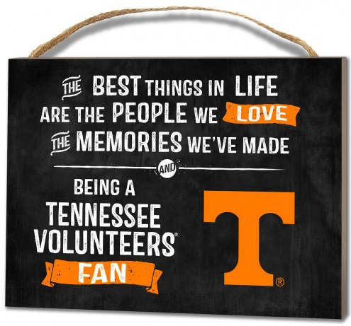 Tennessee Volunteers Best Things Small Plaque