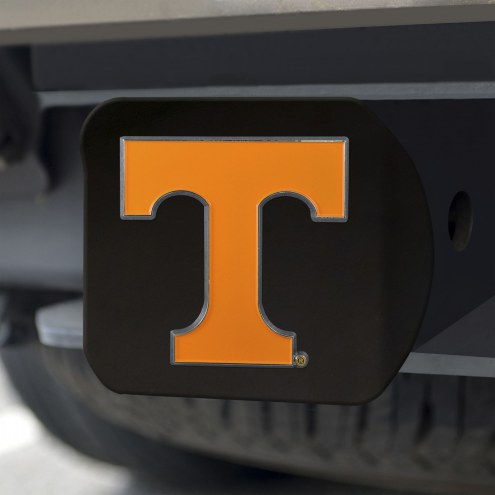 Tennessee Volunteers Black Color Hitch Cover