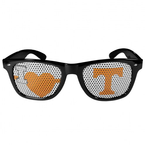 Tennessee Volunteers Black I Heart Game Day Shades