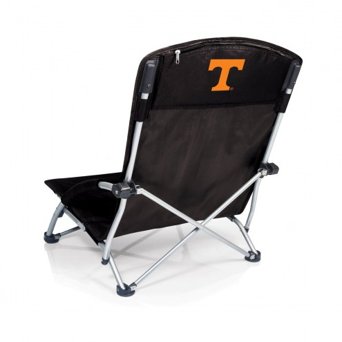 Tennessee Volunteers Black Tranquility Beach Chair