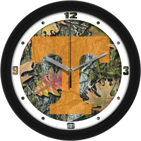Tennessee Volunteers Camo Wall Clock