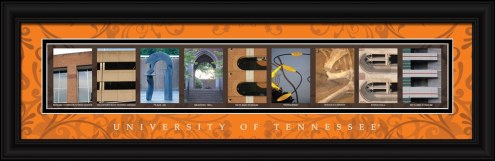 Tennessee Volunteers Campus Letter Art