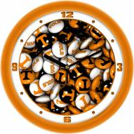 Tennessee Volunteers Candy Wall Clock