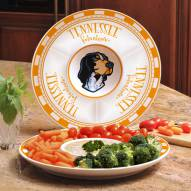 Tennessee Volunteers Ceramic Chip and Dip Serving Dish