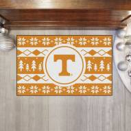 Tennessee Volunteers Christmas Sweater Starter Rug