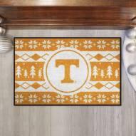 Tennessee Volunteers Christmas Sweater Starter Rug