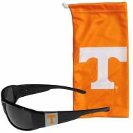 Tennessee Volunteers Chrome Wrap Sunglasses & Bag