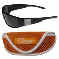 Tennessee Volunteers Chrome Wrap Sunglasses & Sports Case