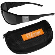 Tennessee Volunteers Chrome Wrap Sunglasses & Zippered Carrying Case