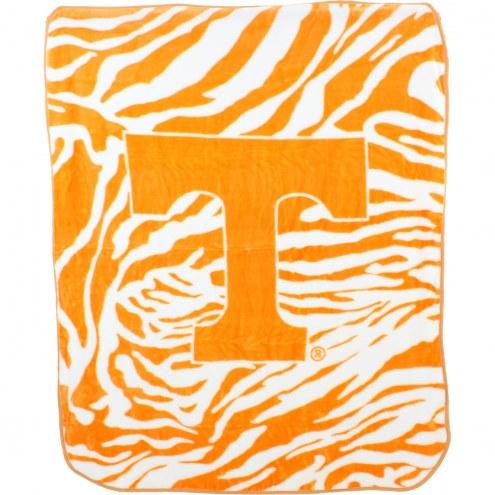 Tennessee Volunteers Raschel Throw Blanket