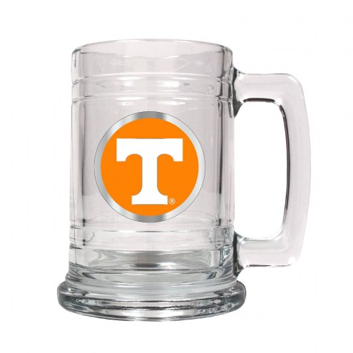 Tennessee Volunteers College Glass Tankard Beer Mug 2-Piece Set