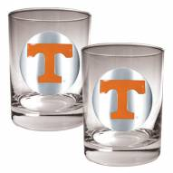 Tennessee Volunteers College 2-Piece 14 Oz. Rocks Glass Set