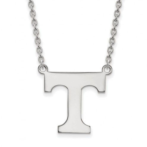 Tennessee Volunteers Sterling Silver Large Pendant Necklace