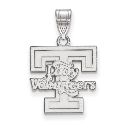 Tennessee Volunteers Sterling Silver Medium Pendant