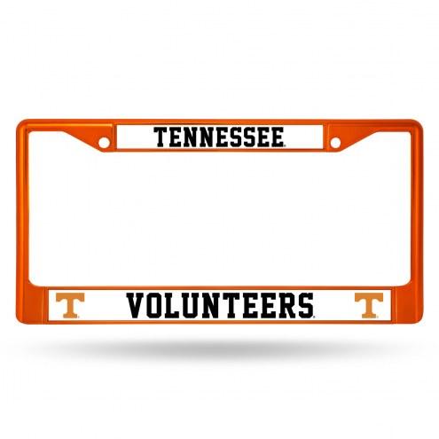 Tennessee Volunteers Color Metal License Plate Frame