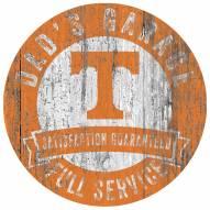 Tennessee Volunteers Dad's Garage Sign