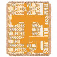 Tennessee Volunteers Double Play Woven Throw Blanket