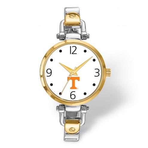 Tennessee Volunteers Elegant Ladies Two-Tone Watch