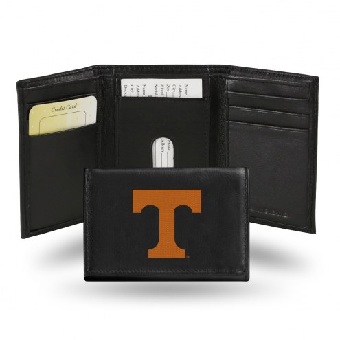 Tennessee Volunteers Embroidered Leather Tri-Fold Wallet