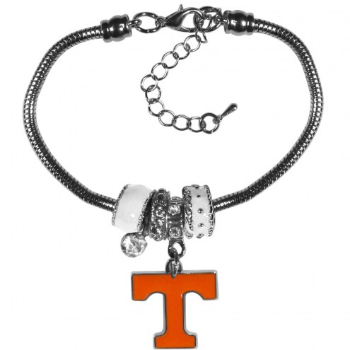 Tennessee Volunteers Euro Bead Bracelet