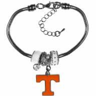Tennessee Volunteers Euro Bead Bracelet