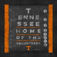 Tennessee Volunteers Eye Chart