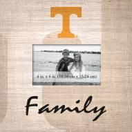Tennessee Volunteers Family Picture Frame