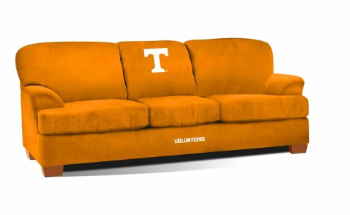 Tennessee Volunteers First Team Microfiber Sofa