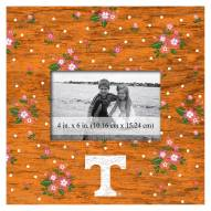 """Tennessee Volunteers Floral 10"""" x 10"""" Picture Frame"""