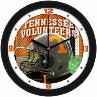 Tennessee Volunteers Football Helmet Wall Clock