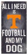 Tennessee Volunteers Football & My Dog Sign