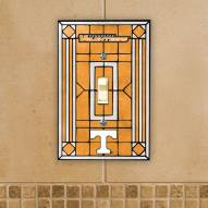 Tennessee Volunteers Glass Single Light Switch Plate Cover