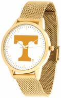 Tennessee Volunteers Gold Mesh Statement Watch