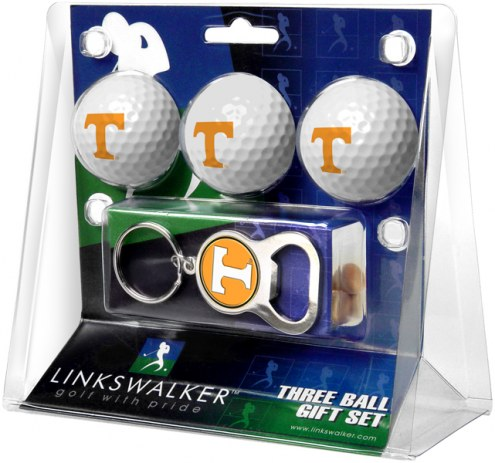 Tennessee Volunteers Golf Ball Gift Pack with Key Chain