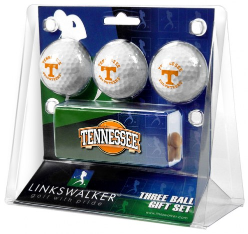 Tennessee Volunteers Golf Ball Gift Pack with Slider Clip