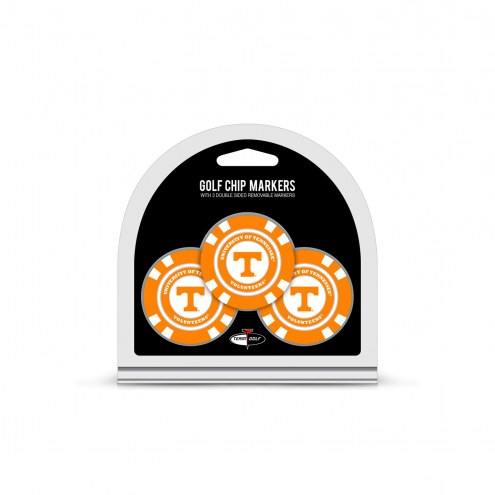 Tennessee Volunteers Golf Chip Ball Markers