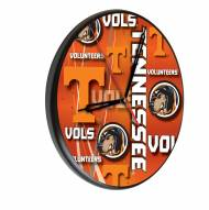 Tennessee Volunteers Digitally Printed Wood Clock