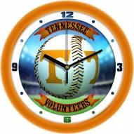 Tennessee Volunteers Home Run Wall Clock